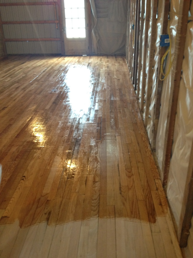 Re Staining Wood Floor The Mill Pinterest Woods And