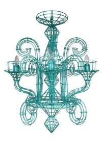 17 Best images about Teal chandeliers on Pinterest ...