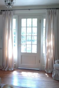 25+ best ideas about Sidelight curtains on Pinterest ...