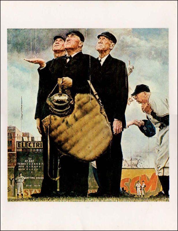 Pin Up Girl Art Vintage Wallpaper Norman Rockwell Baseball Prints Norman Rockwell Baseball