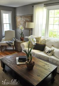 1000+ ideas about Gray Living Rooms on Pinterest | Living ...
