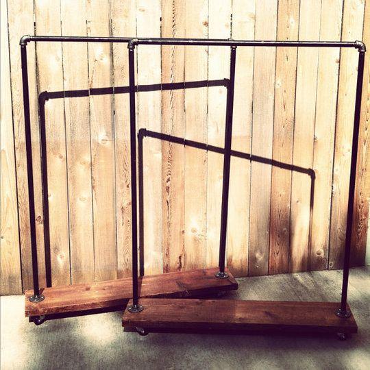 17 Best Ideas About Rolling Rack On Pinterest Wood Rack