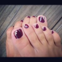 Best 10+ Fall toe nails ideas on Pinterest | Christmas ...