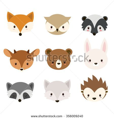 Fall Woodland Creatures Wallpaper Stock Images Similar To Id 317720480 Fall Autumn
