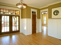 Modern painted chair rail. | Craftsman Moulding Woodwork ...