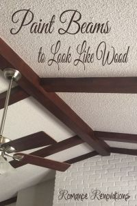 25+ best ideas about Painted ceiling beams on Pinterest ...