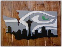 Seattle Seahawks Wall Art - seattle seahawks wood wall art ...