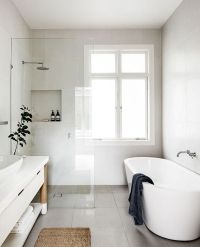 17 Best ideas about White Bathrooms on Pinterest