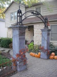 82 best Halloween - Cemetery Gates, Arches and Entrances ...