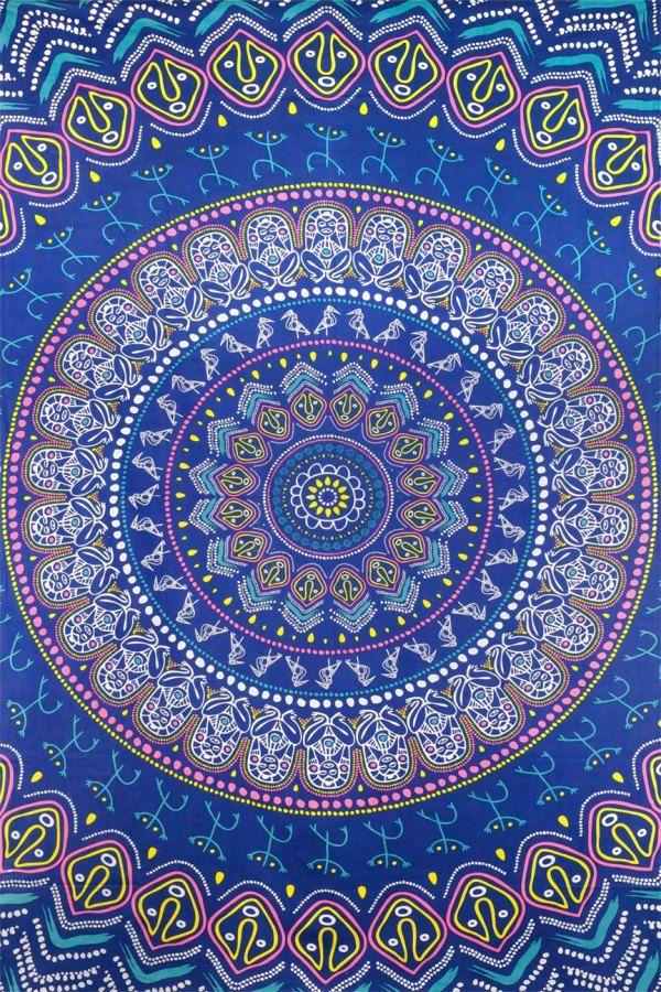 Mandala Wallpaper Iphone 6 Tapestry Wallpaper Wallpapers Pinterest Tapestries