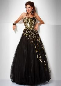 masquerade dress. black and gold | Masquerade | Pinterest ...