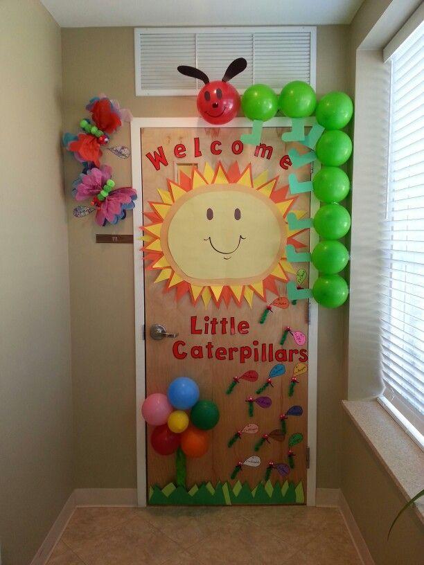 Preschool Welcome Door for orientation. By Ms. Monique