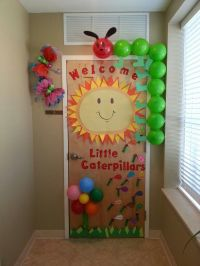 Preschool Welcome Door for orientation. By Ms. Monique