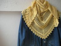 Ravelry: fanalaine's Spring Cotton Shawl | Crochet ...