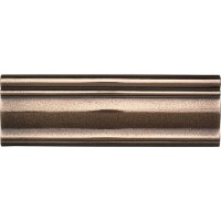Polished Bronze Ashlar Chair Rail - Metal Ages by daltile ...