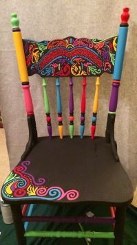 17 Best ideas about Painted Chairs on Pinterest | Hand ...