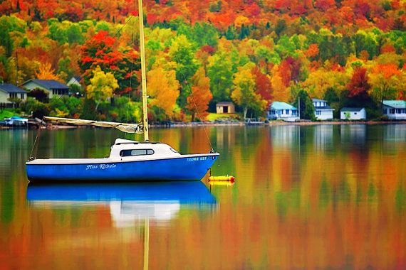 Vermont Fall Foliage Wallpaper Fall On Lake Willoughby Colorful Landscape Autumn