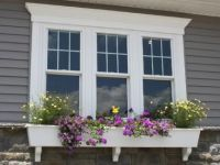 Colonial grid top only window | House Exteriors ...