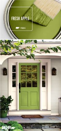 25+ Best Ideas about Painted Doors on Pinterest | Front ...