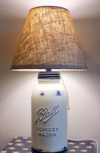1000+ ideas about Homemade Lamps on Pinterest   Homemade ...
