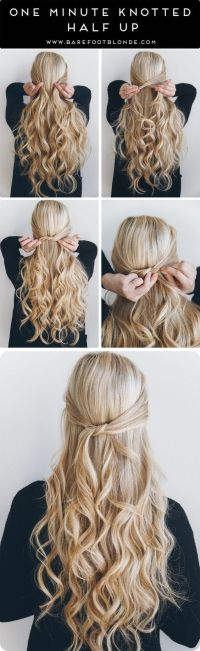 25+ best ideas about Down Hairstyles on Pinterest | Half ...