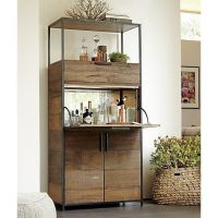 Clive Bar Cabinet - Crate and Barrel | Living rooms, Nooks ...