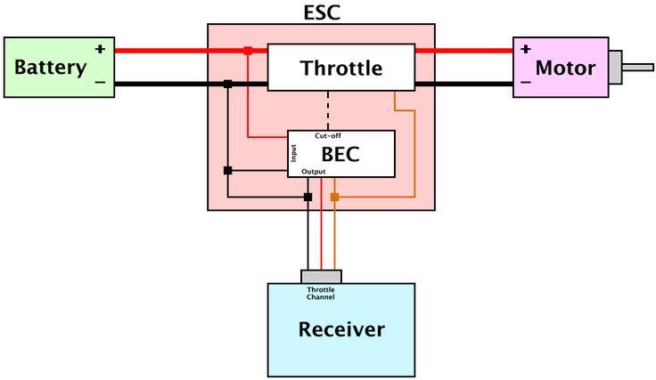 high output bec battery eliminator circuit