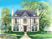 Chateau Home Style Laurette Chateau Timber Frame Home Plan ...