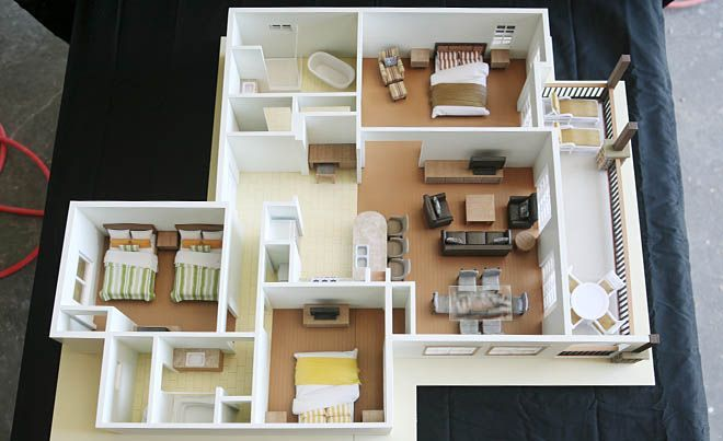 Rumah Minimalis 100 Meter 3d Printed House Plan. | 3d Printed Creations | Pinterest