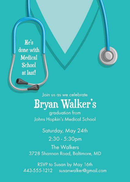 homemade graduation party invitations