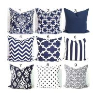 25+ best ideas about Navy Pillows on Pinterest | Navy blue ...