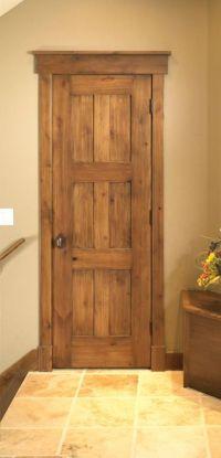 rustic door frame molding   Doors for my cabin   Pinterest ...