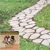 Pathmate Concrete Stepping Stone Molds | DIY project ideas ...