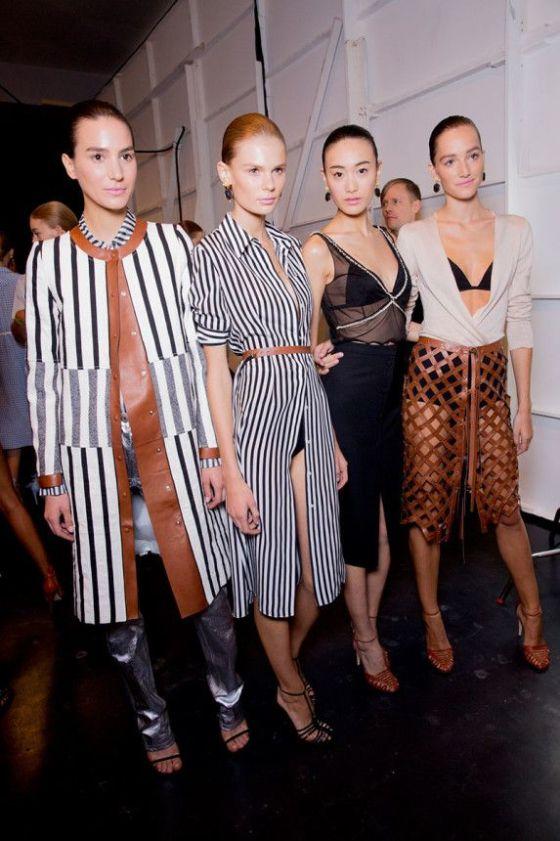 Altuzarra Spring 2015 RTW – Backstage – Vogue