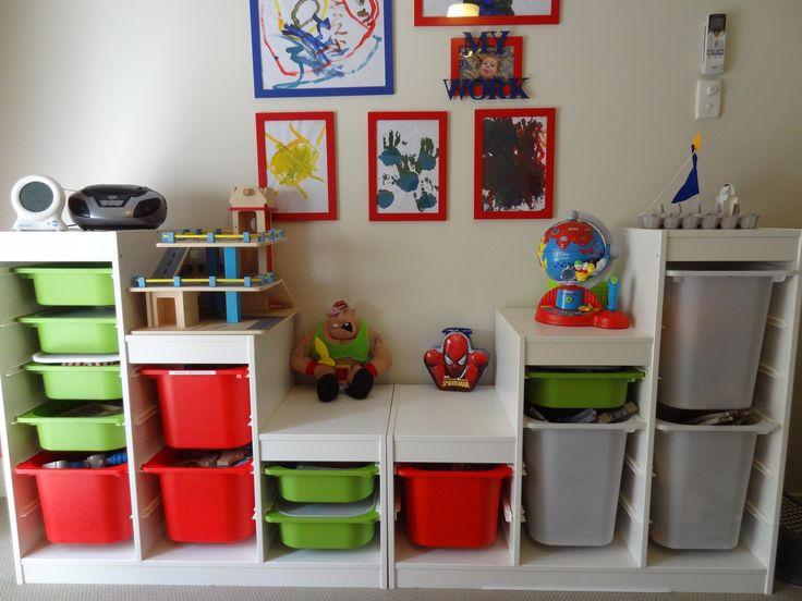 Toy Organizer Ikea Toy Storage (trofast By Ikea) | Church Nursery | Pinterest
