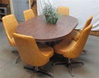 Harvest Gold Chromcraft Vintage Kitchen Table Chair Set ...