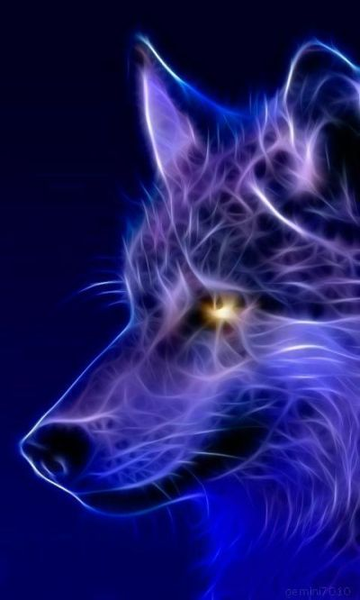 Cool wallpaper, Wolves and Abstract on Pinterest