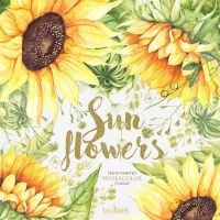 Best 20+ Watercolor Sunflower ideas on Pinterest ...