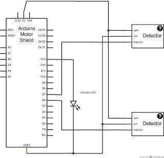 model railroad electronic circuit