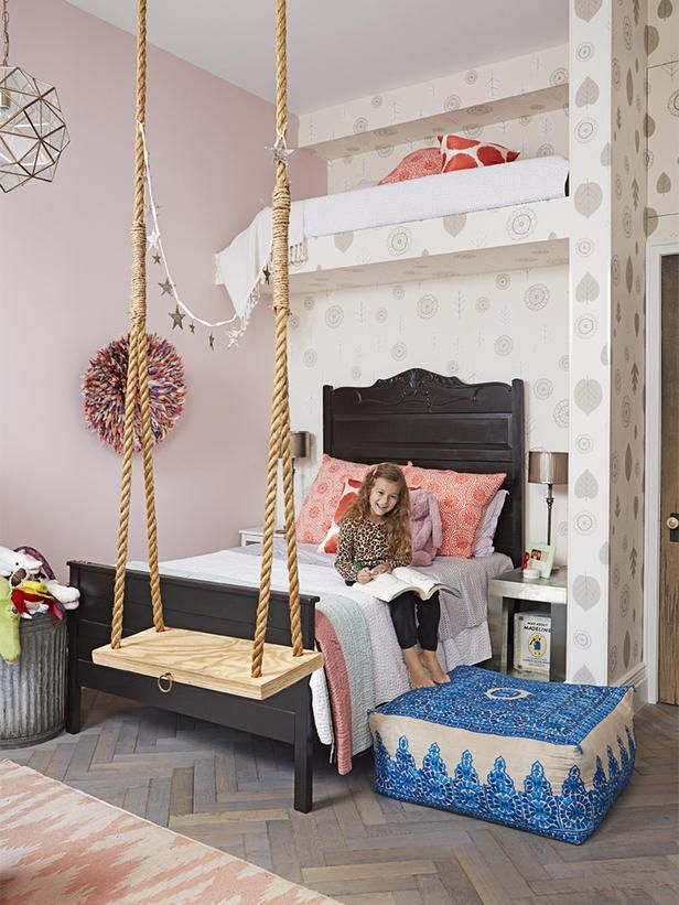 Pinterest Girls Kids Rooms With Wood Wallpaper Genevieve Gorder S Nyc Apartment Renovation Gardens