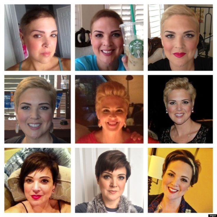 Hairstyles For Hair Growing Back After Chemo 61 Best Images About Post Chemo Hair On Pinterest Shorts