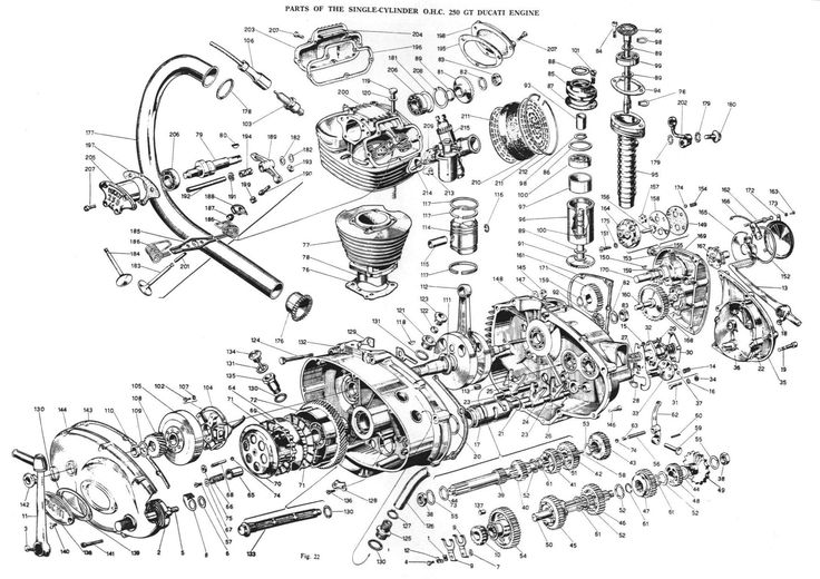 ducati engine schematics