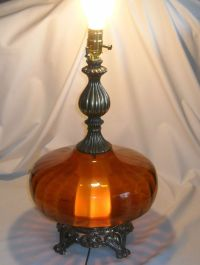1000+ images about Vintage lamps on Pinterest | Glass ...