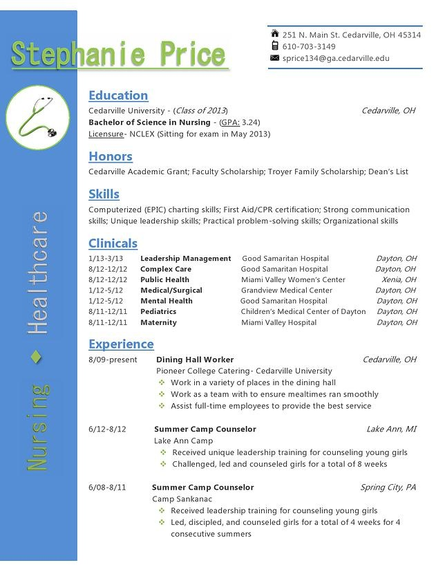 Cv Template For Junior Doctor | Create Professional Resumes Online
