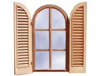Designer Door & Window - Custom Wood Corners Wood Rounds ...
