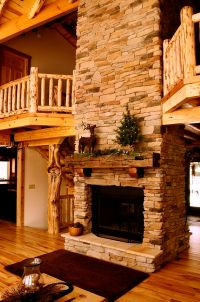 25+ best ideas about Cabin Fireplace on Pinterest ...