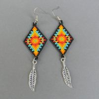 17 Best images about Beaded Earrings/Native on Pinterest