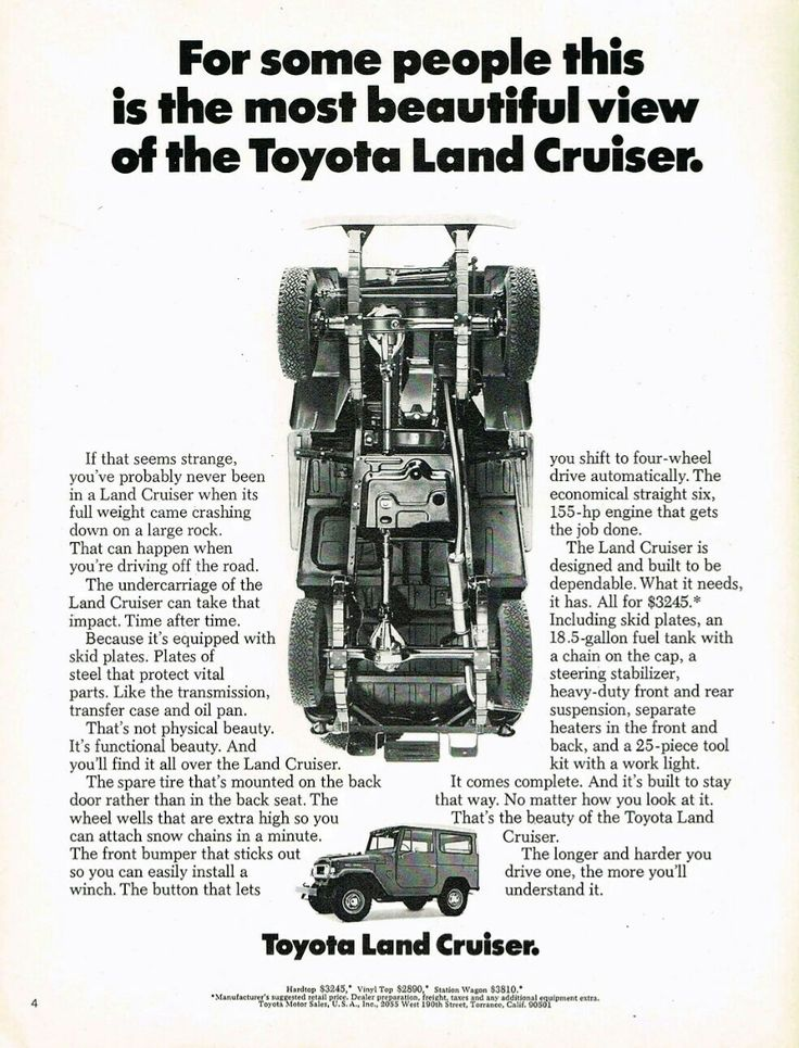 1970 toyota land cruiser 4x4