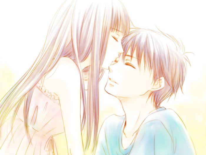 Cute Couple Fighting Wallpaper Tags Anime Take0623 Kimi Ni Todoke Kazehaya Shouta