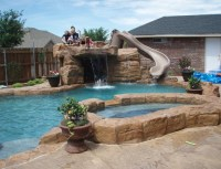 pool ideas replace diving board with something like this ...
